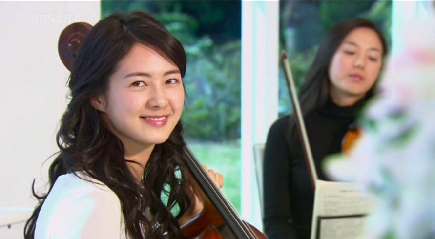 in jung na yo wan lee from 49 days a pretty professional cellist arrives at a newly opened resort hotel complex to play her instrument for her
