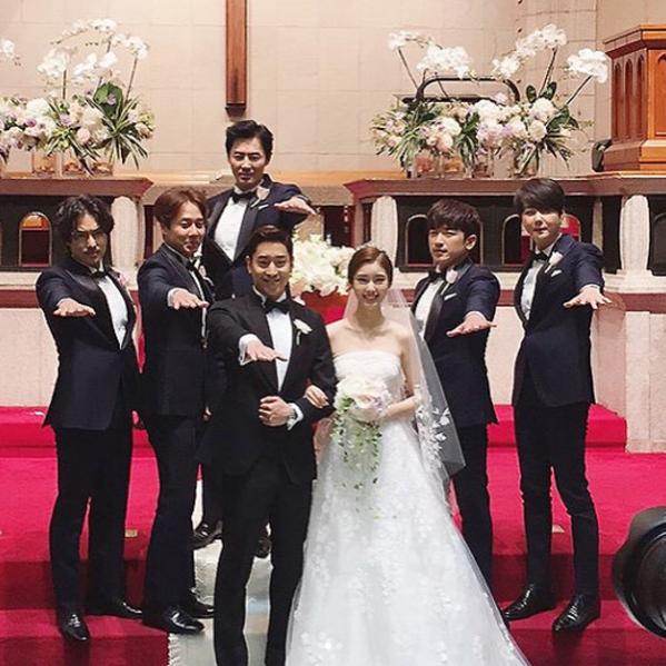 Wedding Korean Star: Korean Actor Eric Moon Photo Gallery