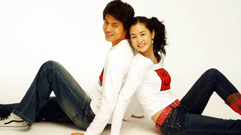 Korean actress da hae lee picture gallery my girl 2005 great hong sisters rom com with dong wook lee mightylinksfo