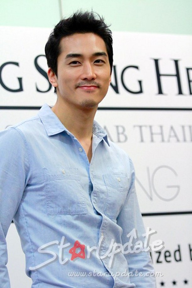 Korean Actor Seung Hun Song Picture Portrait Gallery